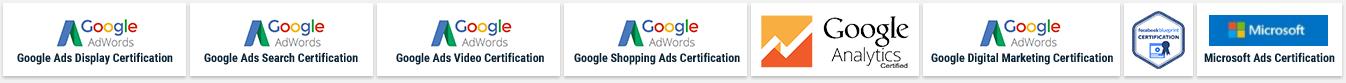 Digital marketing certifications of Bhavitra